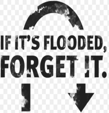 If its flooded forget it